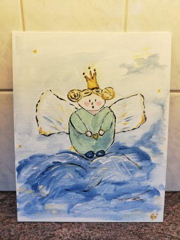 Maak je eigen feestdagen-schilderij