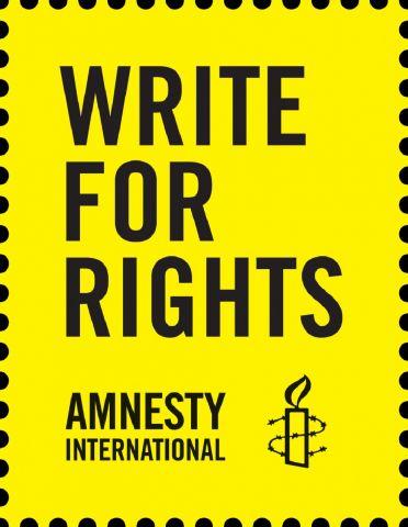 Amnesty schrijfmarathon: Write for rights 07-12-2019 11:00