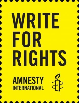 Write for Rights - Amnesty schrijfactie