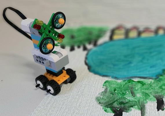 Maak je eigen windmolen met LEGO WeDo!