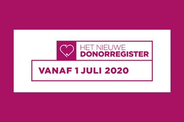 Donorwet: ondersteuning bij digitaal invullen Donorregister