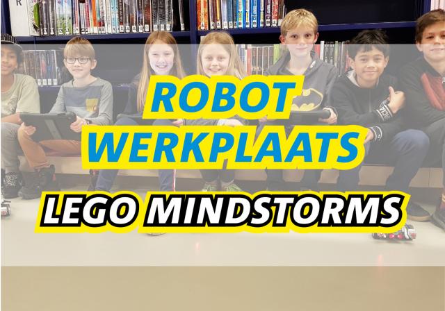 LEGO Robotwerkplaats Mindstorms