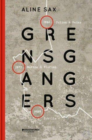 Boekenkist: Grensgangers - Aline Sax
