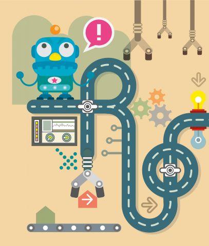In beweging: Raketten, Robots en Achtbanen