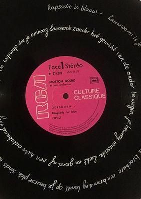 Vinylplaatpoëzie