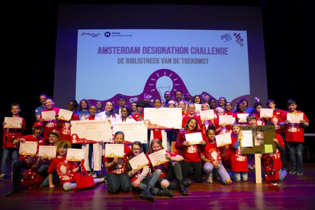 Burgerschap en Techniek: Amsterdam Designathon Challenge