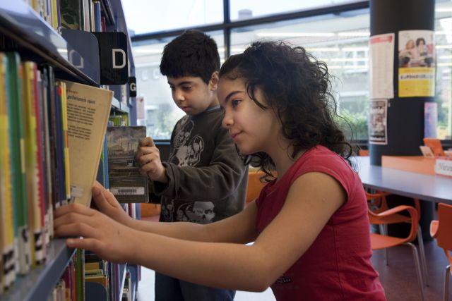 Schoolschrijver: bibliotheekbezoek