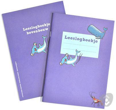 Verkoop: Leeslogboekje voor groep 6-8