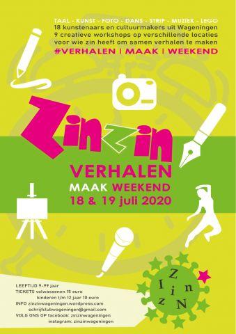 ZinZin Verhalen-maak-weekend