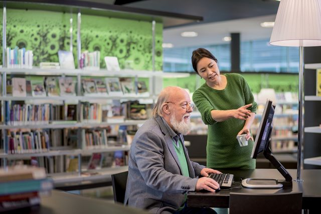 Digitaal spreekuur in de Bibliotheek