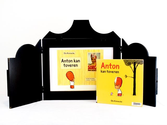 Vertelkastje met platen - Anton kan toveren