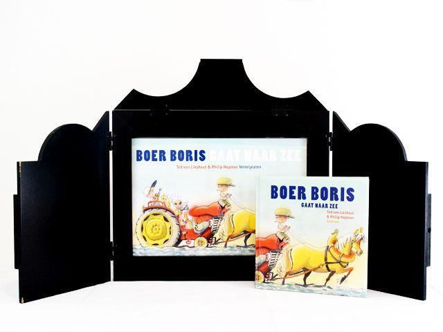 Vertelkastje met platen - Boer Boris gaat naar zee