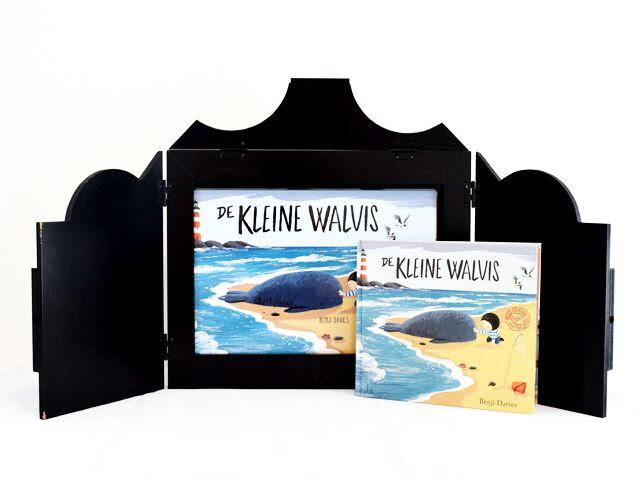 Vertelkastje met platen - De kleine walvis