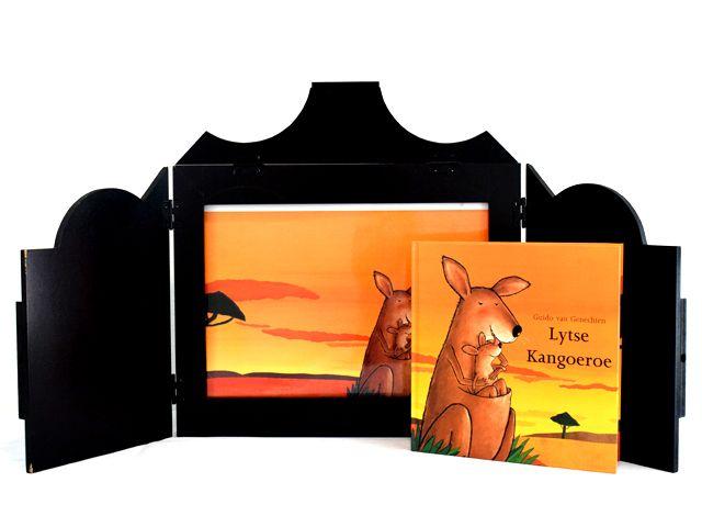 Vertelkastje met platen - Kleine kangoeroe