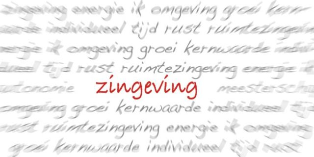 Zingeving - een tweeluik