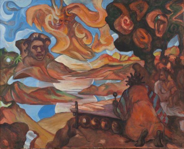 Kunstlezing: Surinaamse School