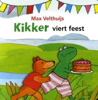 Kikker viert feest - Auteur: Max Velthuijs