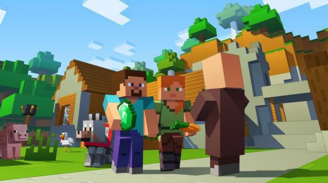 Minecraft - terug naar de Middeleeuwen (9+)