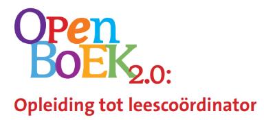 Cursus Open Boek 2.0: opleiding tot leescoördinator PO