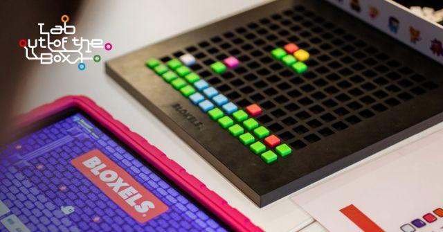 Maakplaats on tour: Games ontwerpen met Bloxels | 10-12 jr.