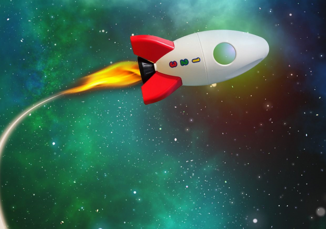 Herfstklooien: maak je eigen stamp raket!