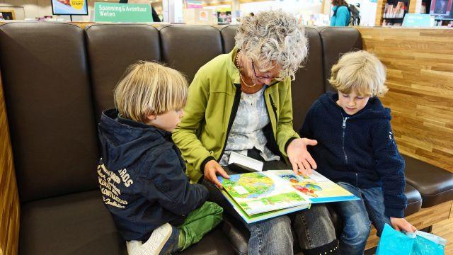 Voorlezen in Bieb Nijkerkerveen