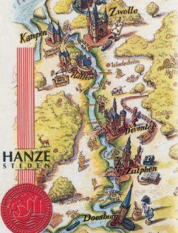 Kunstlezing: Architectuur en cultuur in de Hanzesteden; Glorie van een gouden tijd!