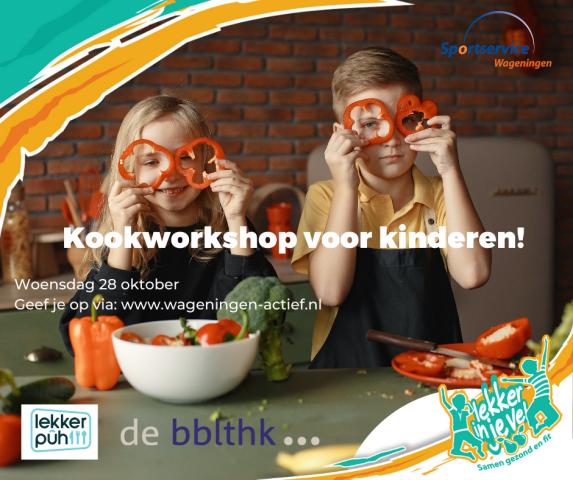 Kookworkshop voor kinderen