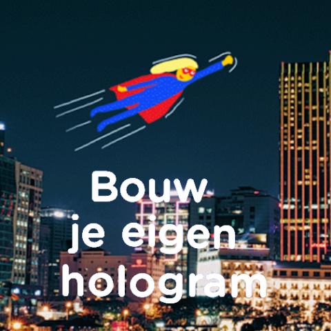 Workshop: Bouw je eigen Hologram!
