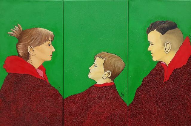"""Exhibition Ewa Zdanowicz: """"Gaze from a Canvas''"""