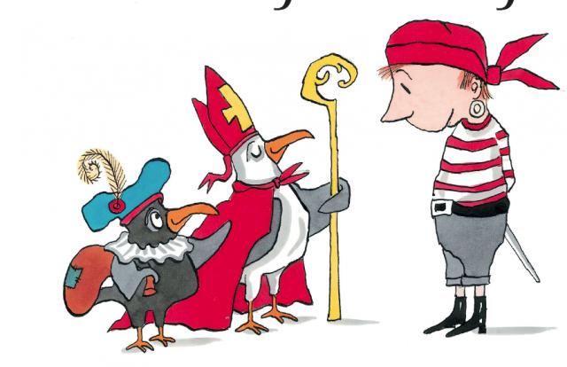 Theatervoorstelling Aadje piraatje viert Sinterklaas - Ton Meijer
