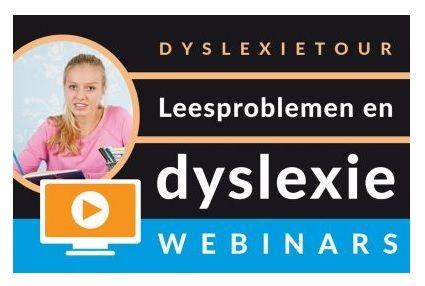 Webinar: Leesproblemen en dyslexie in het Voortgezet Onderwijs