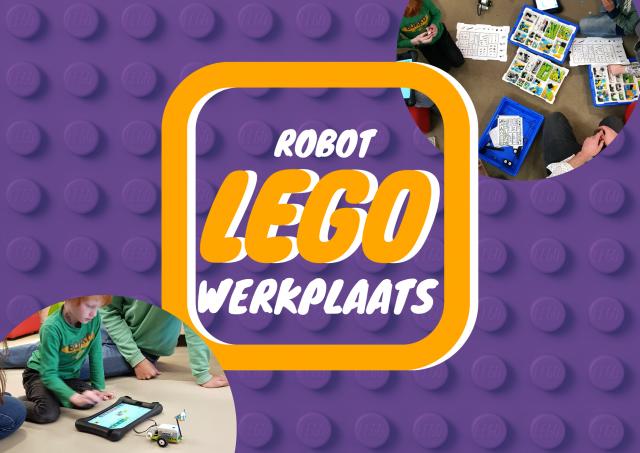 Robot LEGO werkplaats