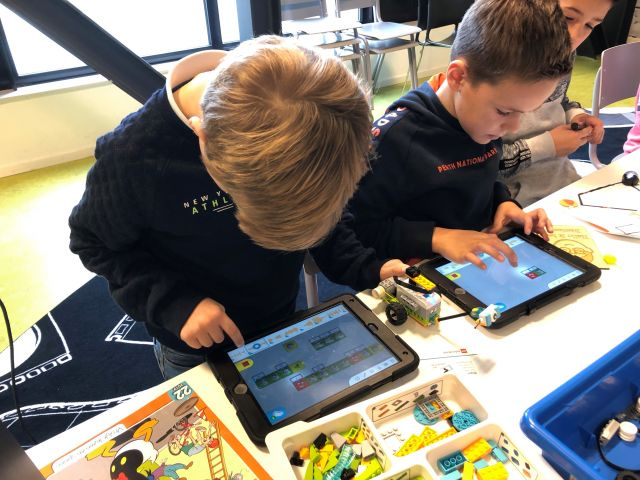 Programmeren met LEGO WeDo (groep 5 t/m 8)