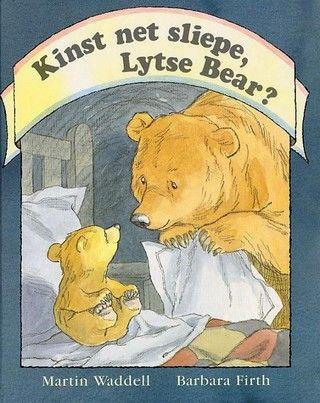 Kinst net sliepe, lytse bear? - Martin Waddell