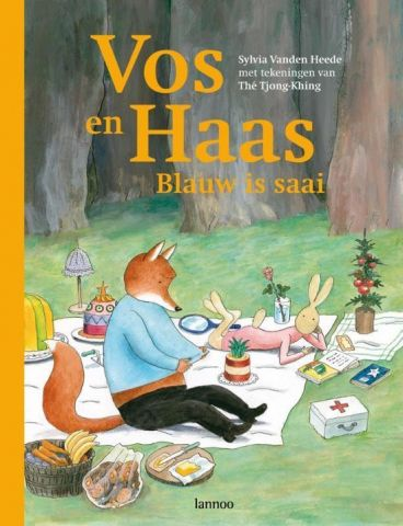 Vos en Haas, Blauw is saai - Sylvia Van den Heeden