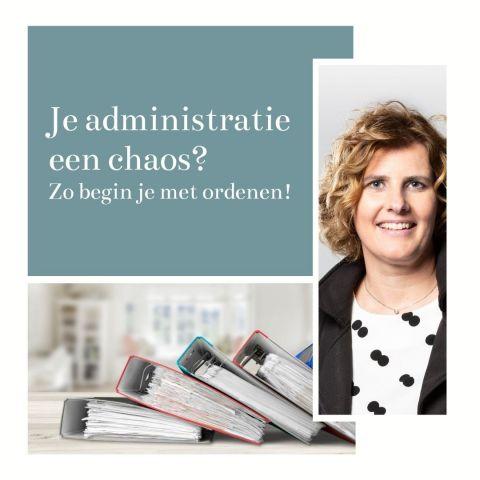 Webinar: Je administratie een chaos? Zo begin je met ordenen!