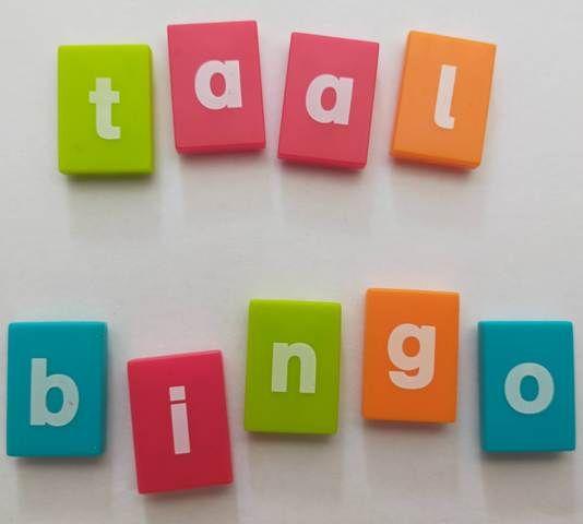 Online Taalbingo om de taal te oefenen