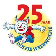 Kleur- en schrijfwedstrijd jarige Dolfje Weerwolfje