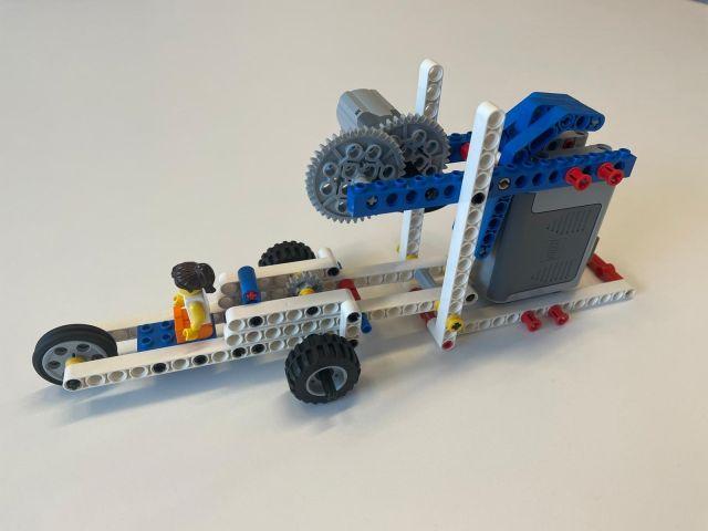 KempenTech: workshop machines - Lego Dragster