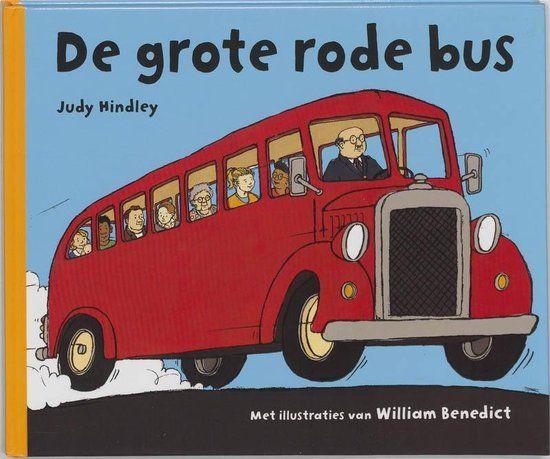 Boekenpretkist: De grote rode bus - JudyHindley