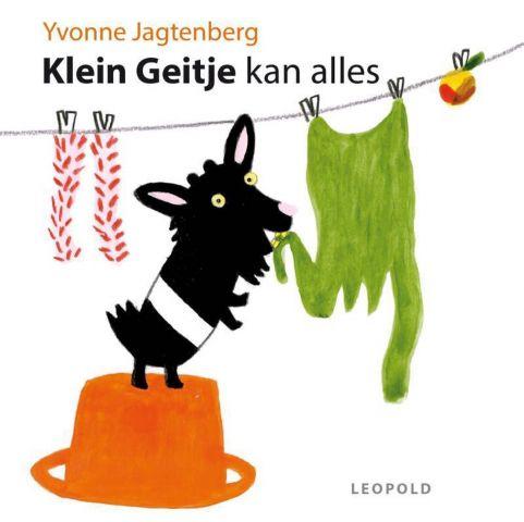 Boekenpretkist: Klein Geitje kan alles : YvonneJagtenberg