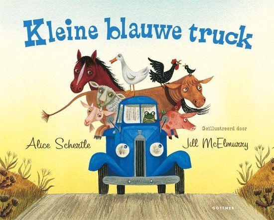 Boekenpretkist: Kleine blauwe truck -AliceSchertle