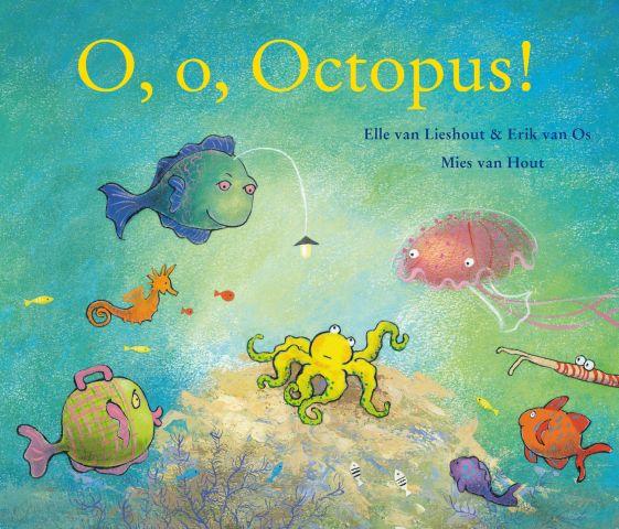 Boekenpretkist: O, o Octopus!–Elle van Lieshout