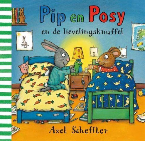 Boekenpretkist: Pip enPosyen de lievelingsknuffel – Axel Scheffler