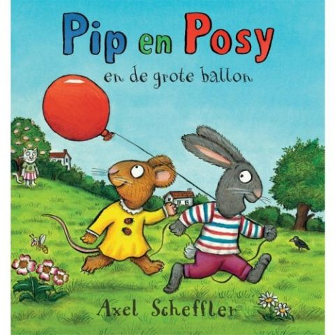 Boekenpretkist: Pip enPosyen de grote ballon – Axel Scheffler