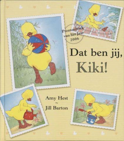 Vertelplaat: Dat ben jij, Kiki! – Amy Hest ( Prentenboek van het Jaar / 2006)