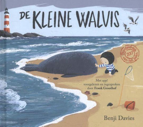 Vertelplaat: De kleine walvis – Benji Davies ( Prentenboek van het Jaar/ 2017)