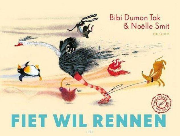 Vertelplaat: Fiet wil rennen –Bibi Dumon Tak ( Prentenboek van het Jaar / 2011 )
