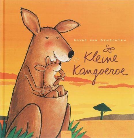 Vertelplaat: De kleine kangoeroe – Guido Van Genechten ( Prentenboek van het Jaar / 2007)